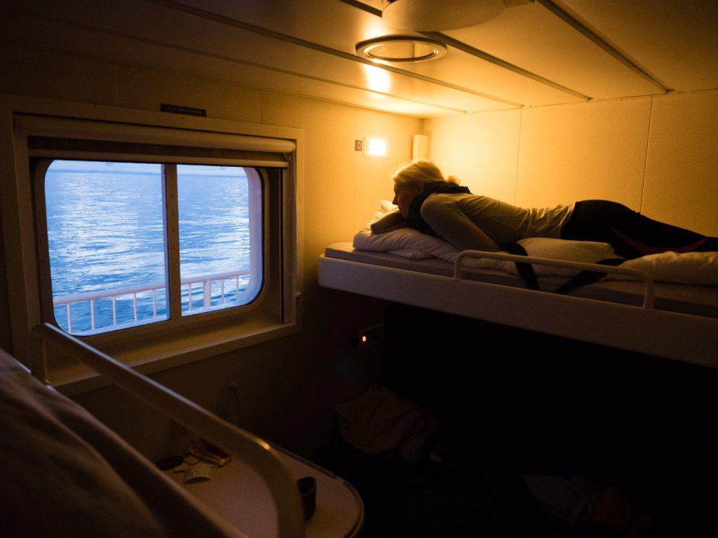 Unsere Schlafplätze an Bord der Sarfaq Ittuq